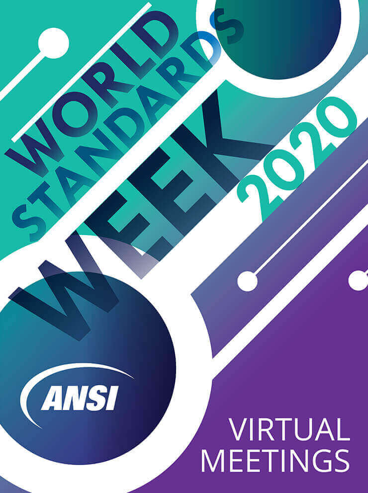ANSI World Standards Week 2020 logo.